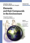 img - for Metals and their compounds in the environment: Occurrence, analysis, and biological relevance book / textbook / text book