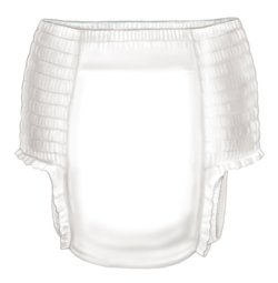 Kendall Curity Sleeppants Youth Pants Pullon Tear Away Sides Large Unisex 65-85Lbs - Case Of 56 front-702544