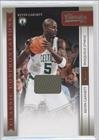 Kevin Garnett/Shaquille O'Neal #54/199 Boston Celtics, Cleveland Cavaliers (Basketball Card) 2009-10 Classics Classic Confrontations Jerseys #8 Amazon.com