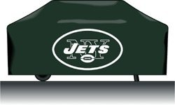New York Jets NFL Deluxe Grill Cover by Hall of Fame Memorabilia