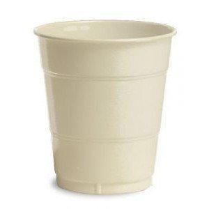 Vanilla Crème 16oz Plastic Cups (20ct) - 1