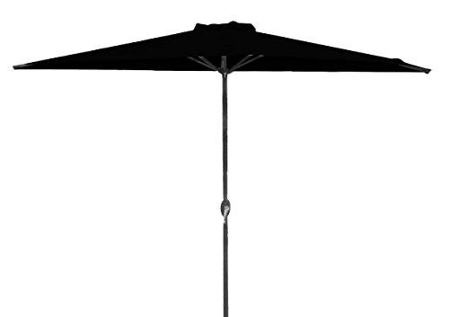 Sonnenschirm Bacana Wand Balkonschirm, matt royal / schwarz