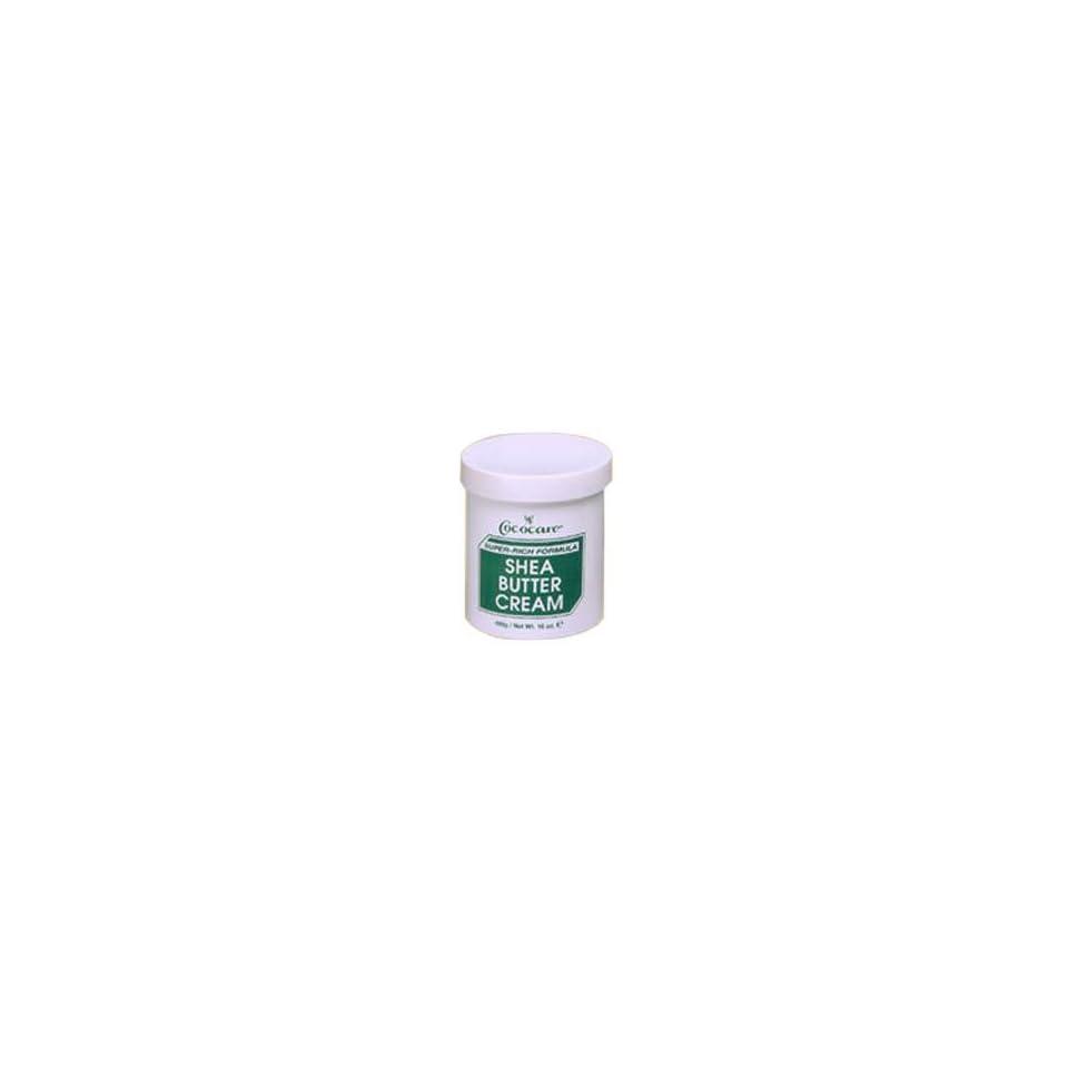 Cococare Shea Butter Super Rich Formula Moisturizing Cream   4 OZ