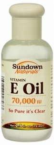 Sundown Vitamin E Oil 70,000Iu 2.5 Oz