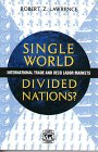 Single World, Divided Nations?: International Trade and the Oecd Labor Markets