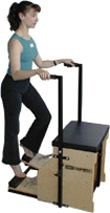 Stott Pilates Split Pedal Stability Chair With Handles