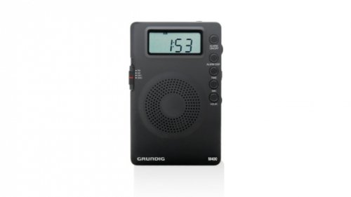Eton Grundig GM400 Mini Super Compact AM/FM Shortwave Radio with Digital Display (Black)