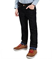 Autograph Pure Cotton Herringbone Jeans