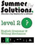 Summer Solutions English & Grammar Workbook (Level 2)