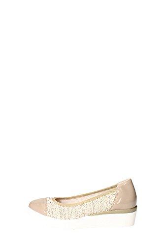 Grunland SC1786-78 Ballerina Donna Tessuto Beige Beige 36