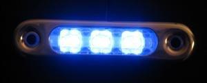 Blue Led Eon Accent Light Car Street Truck Vertical New