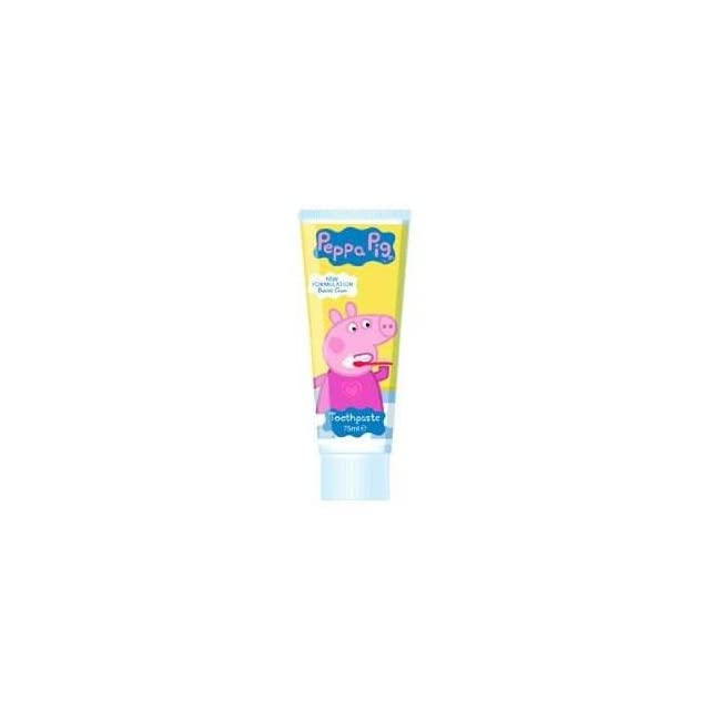 Peppa Pig Toothpaste Bubble Gum Flavour 75Ml  Pack Of 2