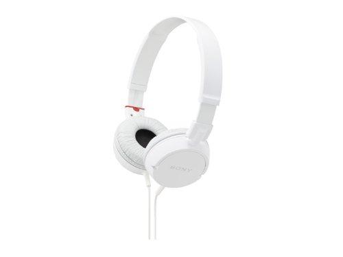 Sony Stereo Headphones Mdr-Zx100 White | Swivel Holding Overhead (Japan Import)