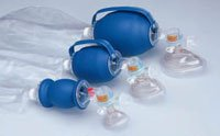 L670-101 PT# L670-101- Resuscitator Bag/ Mask Manual Child Bag Reservoir LF Disp Ea by, Allied Health Care Prod