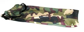 Microfiber cleaning storage pouch for sunglasses and small goggles Forest Camo