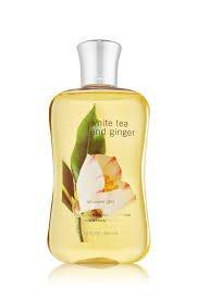 Bath Body Works White Tea Ginger 10.0 Oz Shower Gel