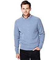 XS Blue Harbour Extrafine Pure Lambswool Crew Neck Jumper