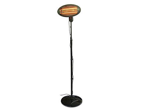 Lámpara de pie calefactora con 3 niveles de potencia