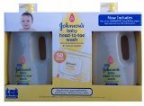 Johnsons Baby Head-Toe Wash Two 25 ct Include Hand & Face Wipes - 1