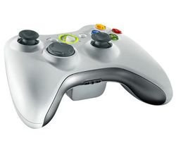 Microsoft Xbox 360 Wireless Controller for Windows Weiss (Retailverpackung)