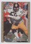 Jack Lambert (Football Card) 1994 Ted Williams Card Company Roger Staubach's NFL Football Instant Replays #IR12