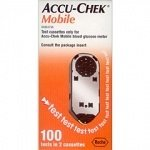 Accu-Chek Mobile Blood 100 Tests 2 Casettes