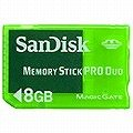 SanDisk MemoryStick Pro Duo Game 8GB