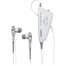 Sony Mdr Nc11 White Noise Canceling Headphones Factory Reconditioned