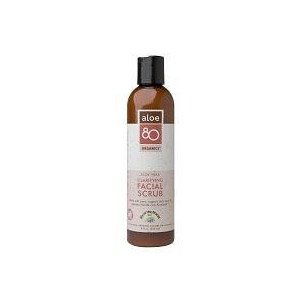 Aloe 80 Organics Clarifying Facial Scrub - 8 oz - Liquid