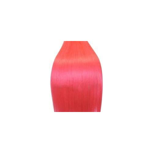 Supermodel   18 Inch Bright Pink.Full Head Human Hair Weave For Sew In Or Glue In. High