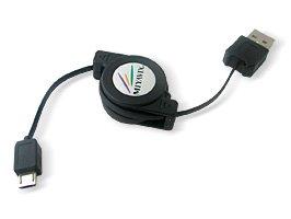 ミヤビックス リトラクタブル USBケーブル(Micro-USB Bタイプ) RCUMBC