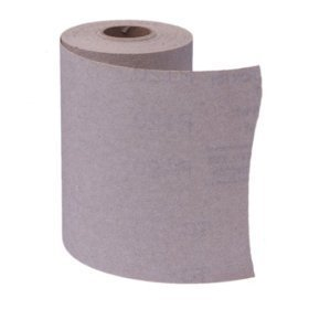 Link to Porter-Cable 740003201 4 1/2-Inch by 10yd 320 Grit Adhesive-Backed Sanding Roll