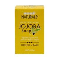 Hobe Naturals Jojoba Bar Soap, Sage, 4-Ounce (Pack of 3) (Hobe Naturals compare prices)