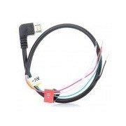 Micro Interface AV Output Cable for GoPro SJ5000 / 6000 - Black Black