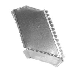 Midwest Ducts Offset Starting Collar - 16 x 8 Inches