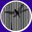 5.5 Inch Fluttering DragonflyCineSpinner-Animated Suncatcher