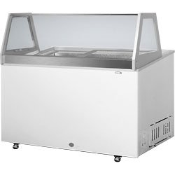 Summit Visual Gelato Dipping Cabinet - 14 cu. ft.