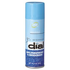-- Unscented Anti-Perspirant & Deodorant 4oz Aerosol 24/Carton