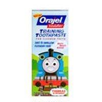Orajel Toddler Training Toothpaste, Thomas &