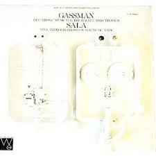 Gassman Sala Electronic Music For The Ballet Electronics Five Improvisations On Magnetic Tape
