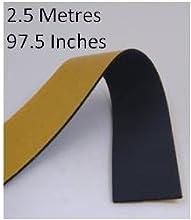 Cinta autoadhesiva aislante, 2,5metros, cinta para tuberías de Armaflex, 50mm de ancho, 3mm de grosor