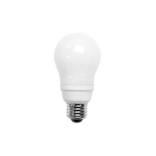 fluorescent light bulb a19 cfl energy star 11 watts 27k warm color. Black Bedroom Furniture Sets. Home Design Ideas