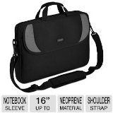 "Slip CVR200 Carrying Case (Sleeve) for 16"" Notebook - Black, Gray"