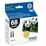 Epson DURABrite T068120-D2 Ultra 68 High-capacity Inkjet Cartridge Multipack -2 Black