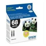 Epson DURABrite T068120-D2 Ultra 68 High-capacity Inkjet Cartridge Multipack -2 Black ~ Epson