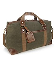 Double Handle Detachable Strap Holdall