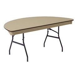 Remarkable Affordable 72 Half Round Plastic Folding Table Mity Lite Interior Design Ideas Gentotryabchikinfo