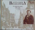 Alexander Brailowsky: The Berlin Recordings 1928-1934 / Vol. 1 Chopin
