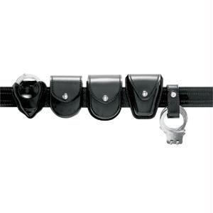 Safariland Duty Gear Hidden Snap Flap Top Double Handcuff Pouch (Plain Black)