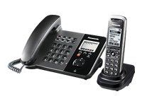 Panasonic KX-TGP550T01 SIP-phone with DECT-extra handset